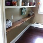 Walnut shelf